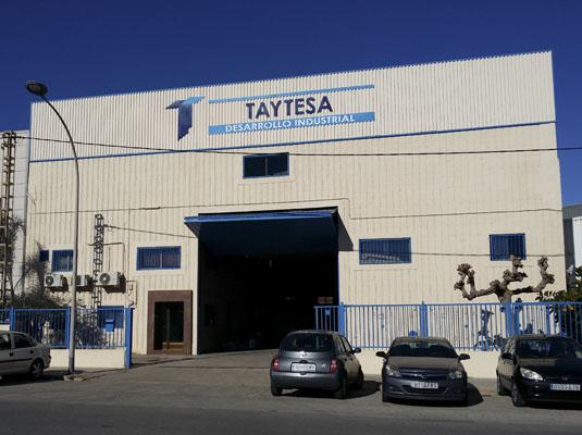 Transporte neumático calderería Taytesa